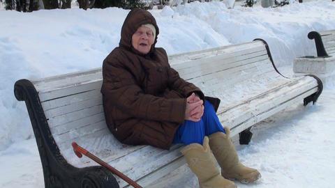 grandmother sings chastooshkas Footage