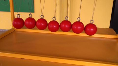 Balls on strings Footage