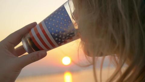 Taste American life Footage