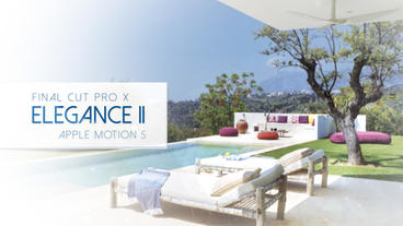 Elegance II - Apple Motion and Final Cut Pro X Template Plantilla de Apple Motion
