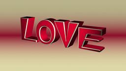 Love Text Animation