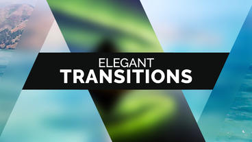 50 Elegant Transitions Premiere Pro Template
