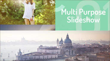 Multi-Purpose Slideshow Premiere Pro Template