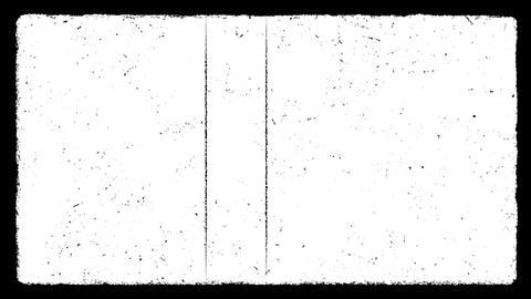 Matte Grunge Frame 01 Animation