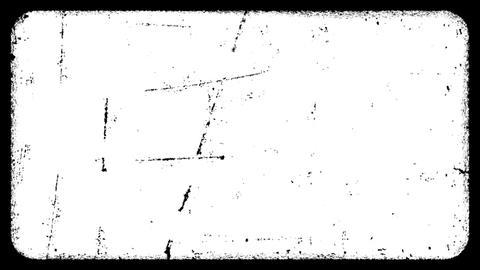 Matte Grunge Frame 04 CG動画素材