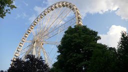 Big Ferris Wheel in the park ビデオ
