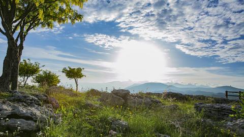Mountain Landscape GIF
