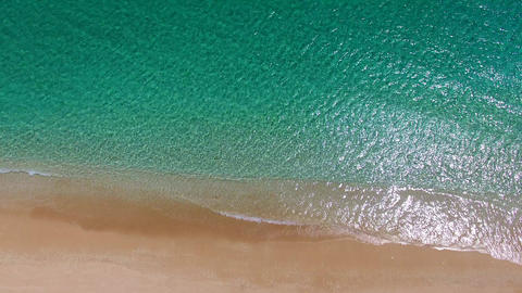 aerial view of beautiful beach Live影片