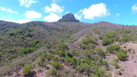 Aerial view of Dajianshan mountain. kenting national park…影片素材