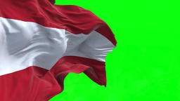4K Flag of Austria - Seamless Looping Animation