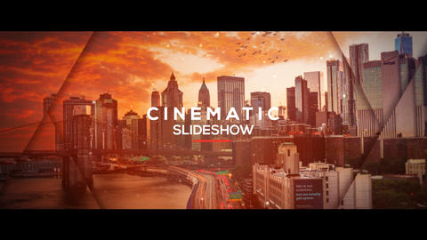 Cinematic Parallax Slideshow - Opener After Effects Template