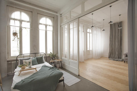 Modern flat with interesting interior Photo
