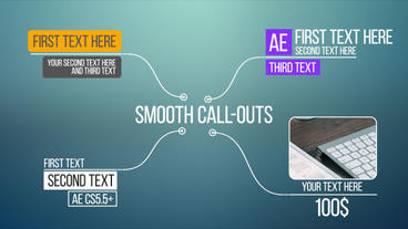 Smooth Call-Outs After Effects Template