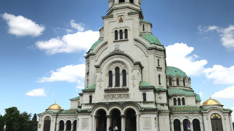 St Alexander Nevsky cathedral in Sofia, Bulgaria 영상물