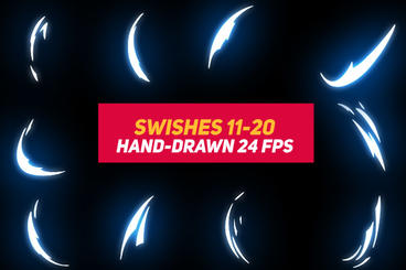 Liquid Elements 2 Swishes 11-20 After Effects Template