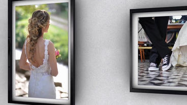 Modern wedding gallery After Effects Template