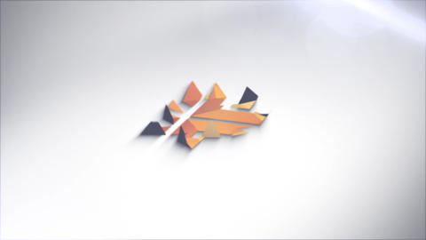 Logo Reveal Unfold After Effects Template