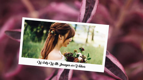 Romantic Slideshow-Wedding Power After Effects Template