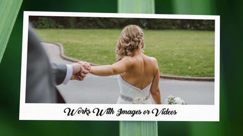 Photo Gallery at a Country Wedding-Maximize Wedding After Effects Template