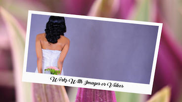 Photo Or Video Gallery A Perfect Day-Wedding Frame After Effects Templates