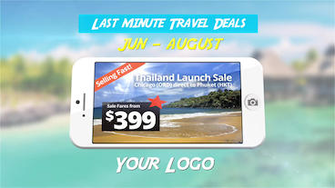 Travel Agency Commercial After Effects Template
