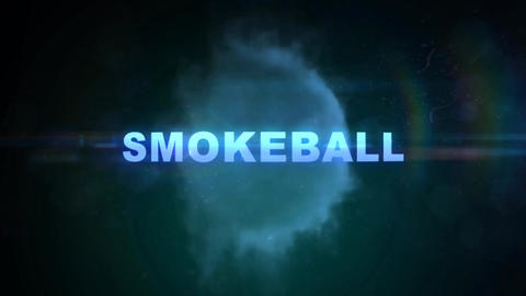SmokeBall - Smoke Logo Opener After Effects Template