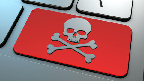 4K Illegal Pirate Downloads stock footage