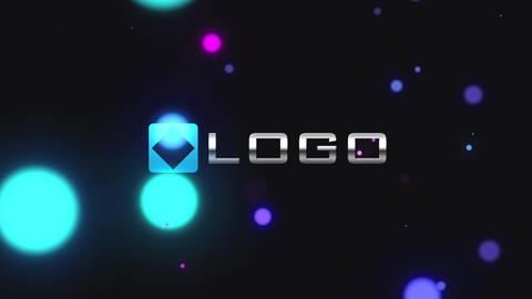 Particles Light Streak Logo Reveal Intro - Elegant 3D Color Business Logo Sting After Effects Template