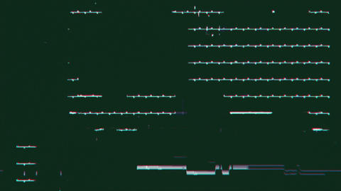 Glitch Background 04 CG動画素材
