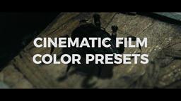 Cinematic Film Color Presets Premiere Pro Template