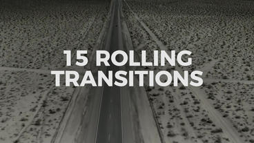 Rolling Transitions Premiere Pro Template