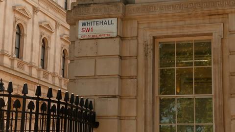 Whitehall, London, England, UK Live Action