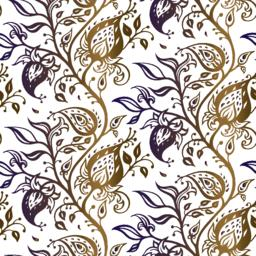 Paisley background. Hand Drawn ornament Vector