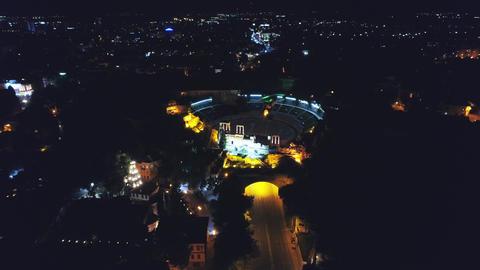 Plovdiv antique theatre Footage