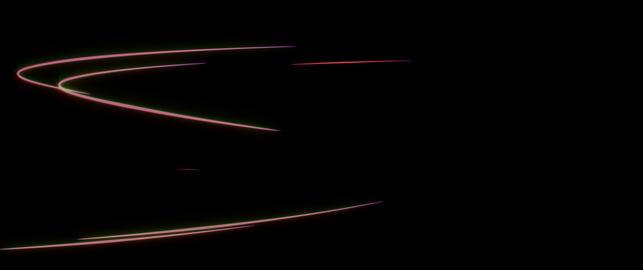 Street light streak lines stoke 4k Stock Video Footage