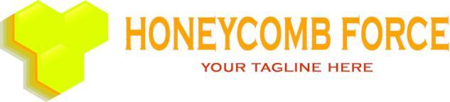 Honeycomb force logo ベクター