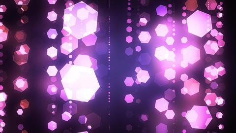 Glittering Shape Lights Animation