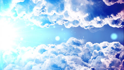Heavenly Passing Clouds Animation