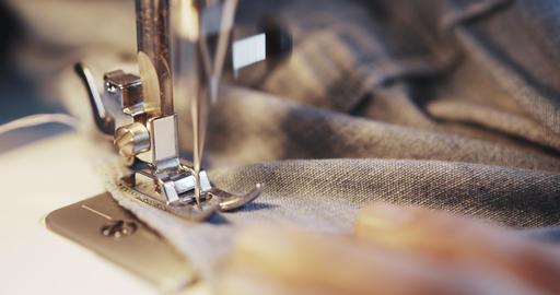 Old Sewing Machine Footage