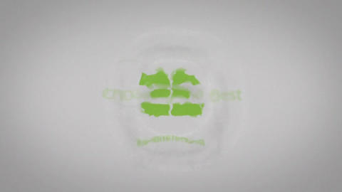 Drop Water Logo After Effects Template
