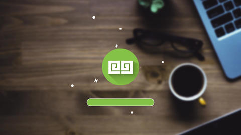 Loading Logo Animation After Effects Template