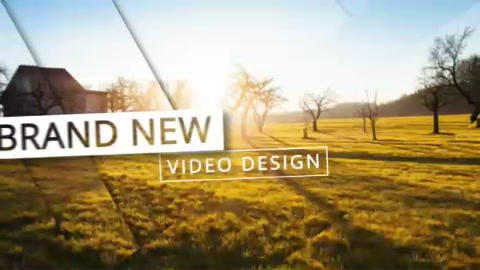 Epic & Modern Opener Instgram Version After Effects Template