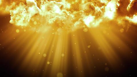 Divine Worship Clouds Animation