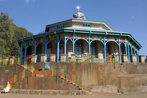 Church Entoto Maryam, Addis Ababa, Ethiopia Photo
