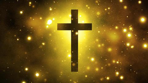 Divine Worship Cross Animation