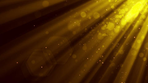 Golden Particles Stock Video Footage