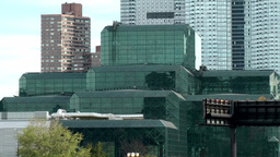 New York City 625 Jacob K. Javits Convention Center seen from High Line Footage