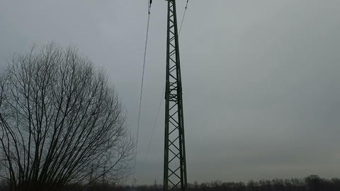 Electricity Pylon Footage
