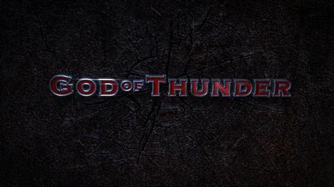 God Of Thunder - Electric Smashing Hammer Logo Stinger After Effectsテンプレート