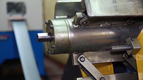 Unfolding Roll Steel Footage